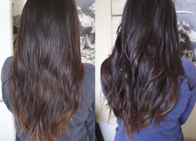 bakepulver hår
