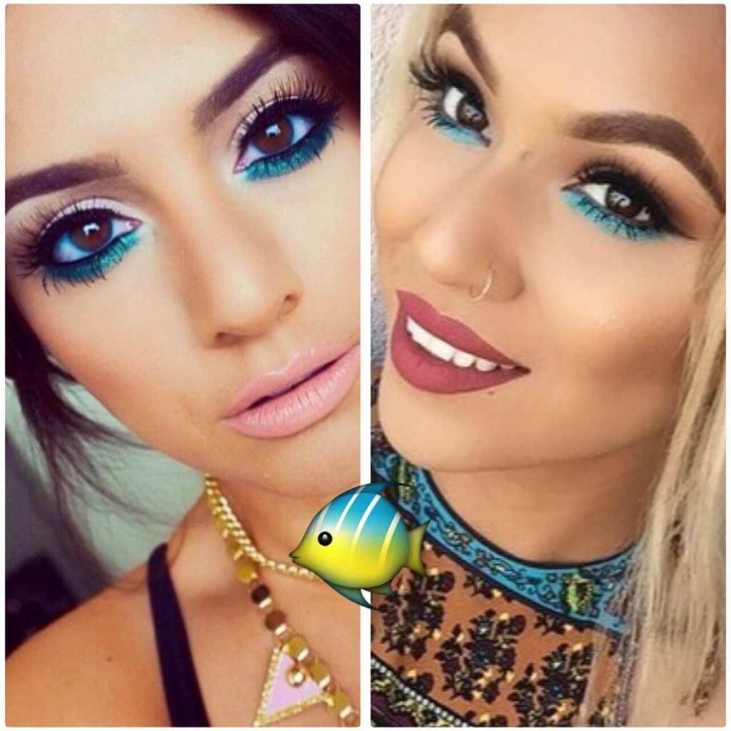 havfrue makeup